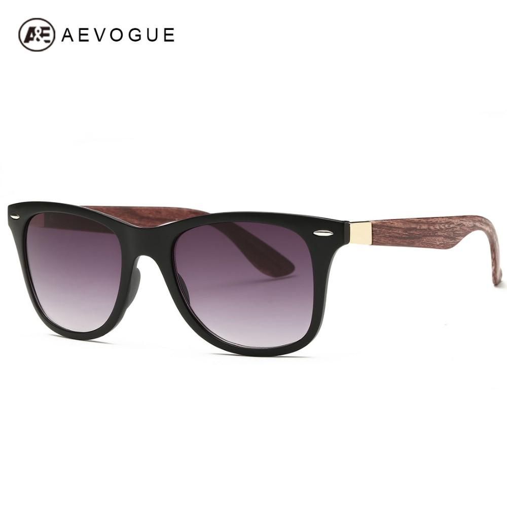≧AEVOGUE Men's Sunglasses 【】 Aritificial Aritificial Wood ...
