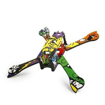 IFlight marco Kit de repuesto pegatina de dibujos animados/cristal para iX5 XL5 V3 RC Dron de carreras con visión en primera persona marco Kit