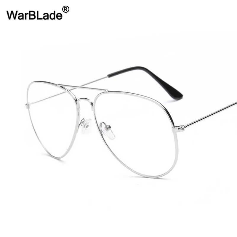 e0997972f4 Detail Feedback Questions about WarBLade Vintage Gold Frame Glasses ...