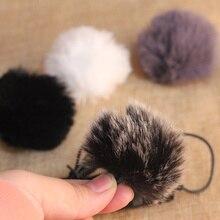 Universal Outdoor Draadloze Microfoon Wind Cover Furry Voorruit Mof Voor Saramonic GOPRO Uwmic9 Lavmic SR WM4C
