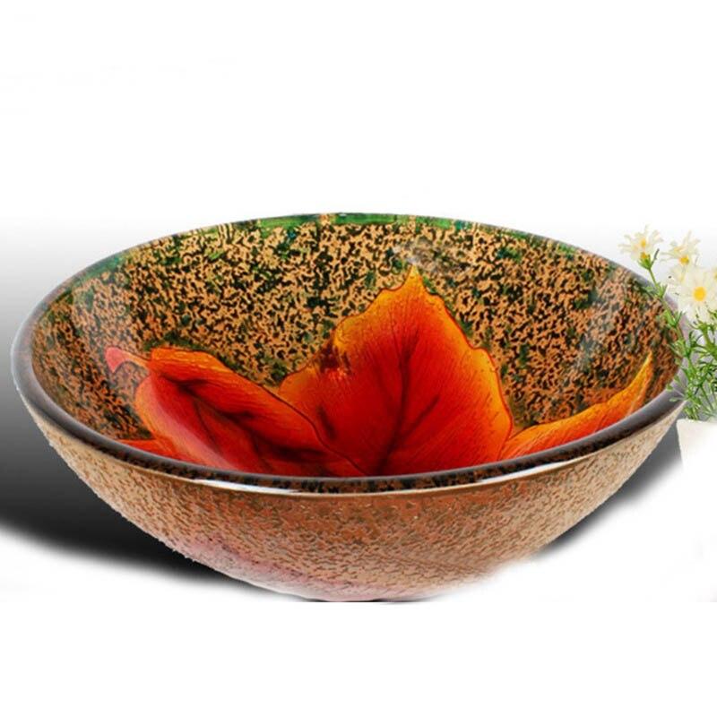 A1 Tempered glass washbasin creative basin artistic basin washbasin LO626456A1 Tempered glass washbasin creative basin artistic basin washbasin LO626456