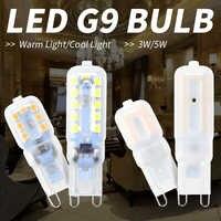 Bombilla Led 220 V Mini G9 3 W 5 W Led lámparas de maíz 14 22 Led reemplazar lámpara halógena 30 W 50 W G9 ahorro de energía modernas luces Led de la habitación