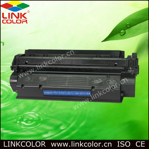 Free shipping C7115A 15a 7115A 15 Black LaserJet Toner Cartridge  for HP LaserJet 1000 1005 1200 1220 3300 3330  printer