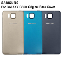 Samsung Original Battery Rear Case For Galaxy Alpha G850 G850Y G850K G8509V G850A G850F G8508S Phone Cover Back Cases