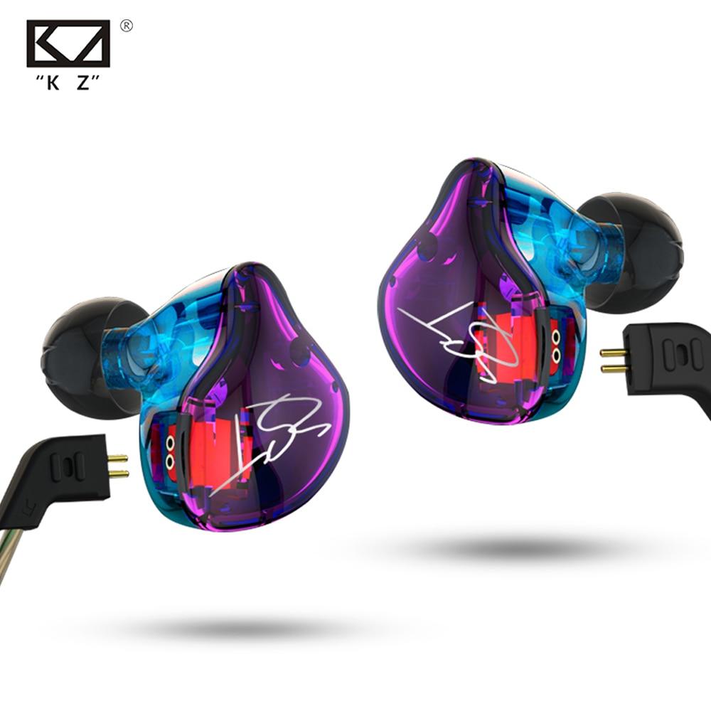 Hot KZ ZST 1DD+1BA Hybrid In Ear Earphone HIFI DJ Monito Running Sport Earphones Earplug Headset Earbud KZ ZS5 Free Shipping original kz zst hifi earphones 1dd 1ba hybrid in ear dj monito super bass earplug headsets stereo surround earbuds for iphone