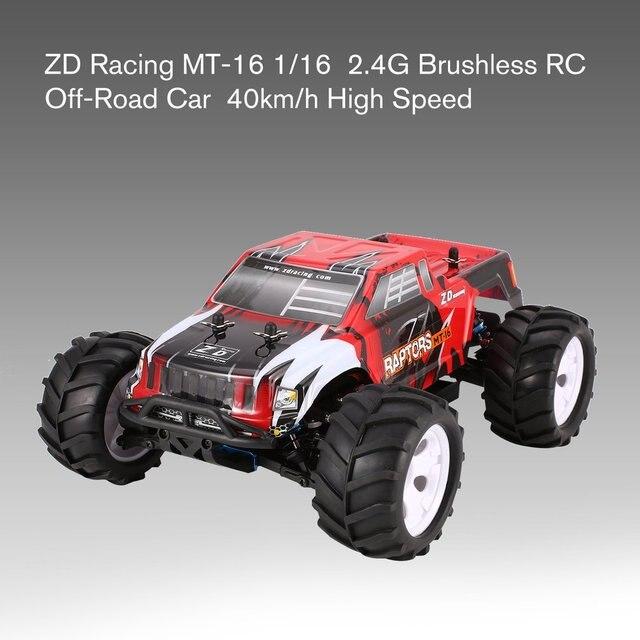 Zd racing MT-16 1/16 escala 2.4g 3