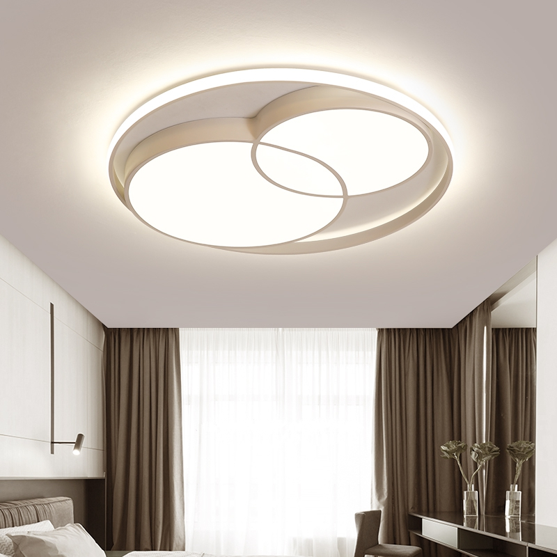 Modern Led Round Ceiling Lamp Personality Living Room Lighting Home Nordic Art Room Bedroom LED Ceiling Lights Kitchen Fixtures in Ceiling Lights from Lights Lighting