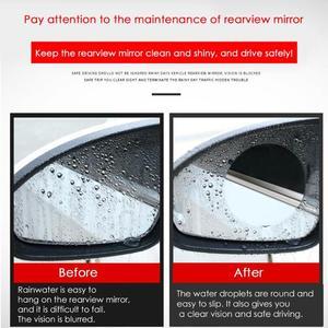 Image 5 - 2pcs Car Rearview Mirror Waterproof Anti Fog Rain Proof Film Side Window Film 100% High Quality New Guarantee Light Blue