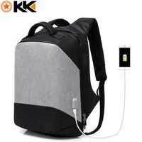 KAKA Multifunction USB Charging 15 6 Inch Laptop Bag Anti Theft Backpack Men Fashion Computer Backpack