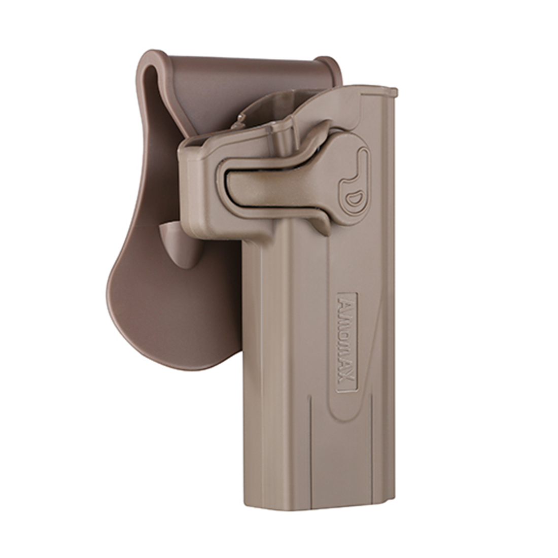 Amomax Adjustable Tactical Holster for STI Hi-Capa 2011 Series Blaster/ Tokyo Marui / WE / KWA / KJW - Right-handed Tan
