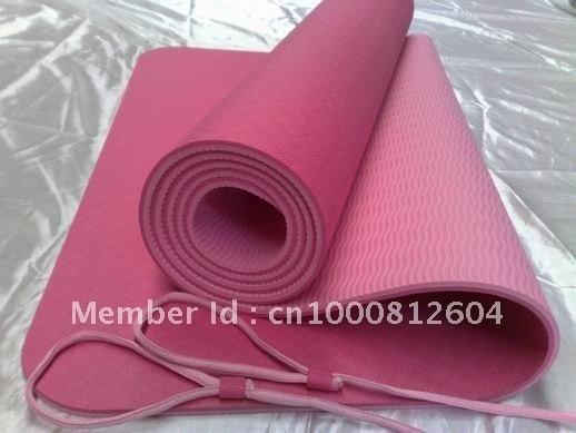 Pilates mat great durability, high elastic and flexibility