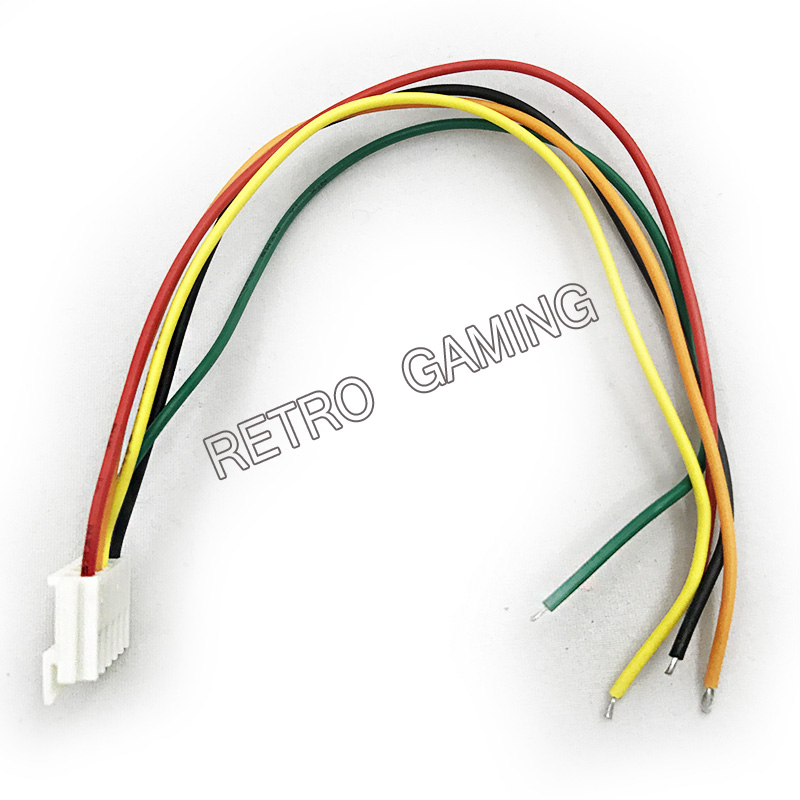 US $6.93 |10 PCS Stretched joystick wires cable 5 pin connector wiring on