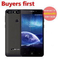 LEAGOO KIICAA POWER Android 7 0 8 0mp Mobile Phone 4000mAh 5 0 Inch MT6580A Quad