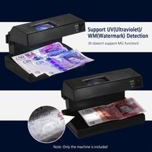 Портативный Детектор фальшивых банкнот, настольный Детектор фальшивых банкнот, банкнот, проверка банкнот, поддержка
