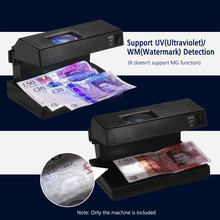 Portable Counterfeit Bill Detector Cash Currency  Desktop Counterfeit Bill Detector Cash Currency Banknotes Note Checker Support