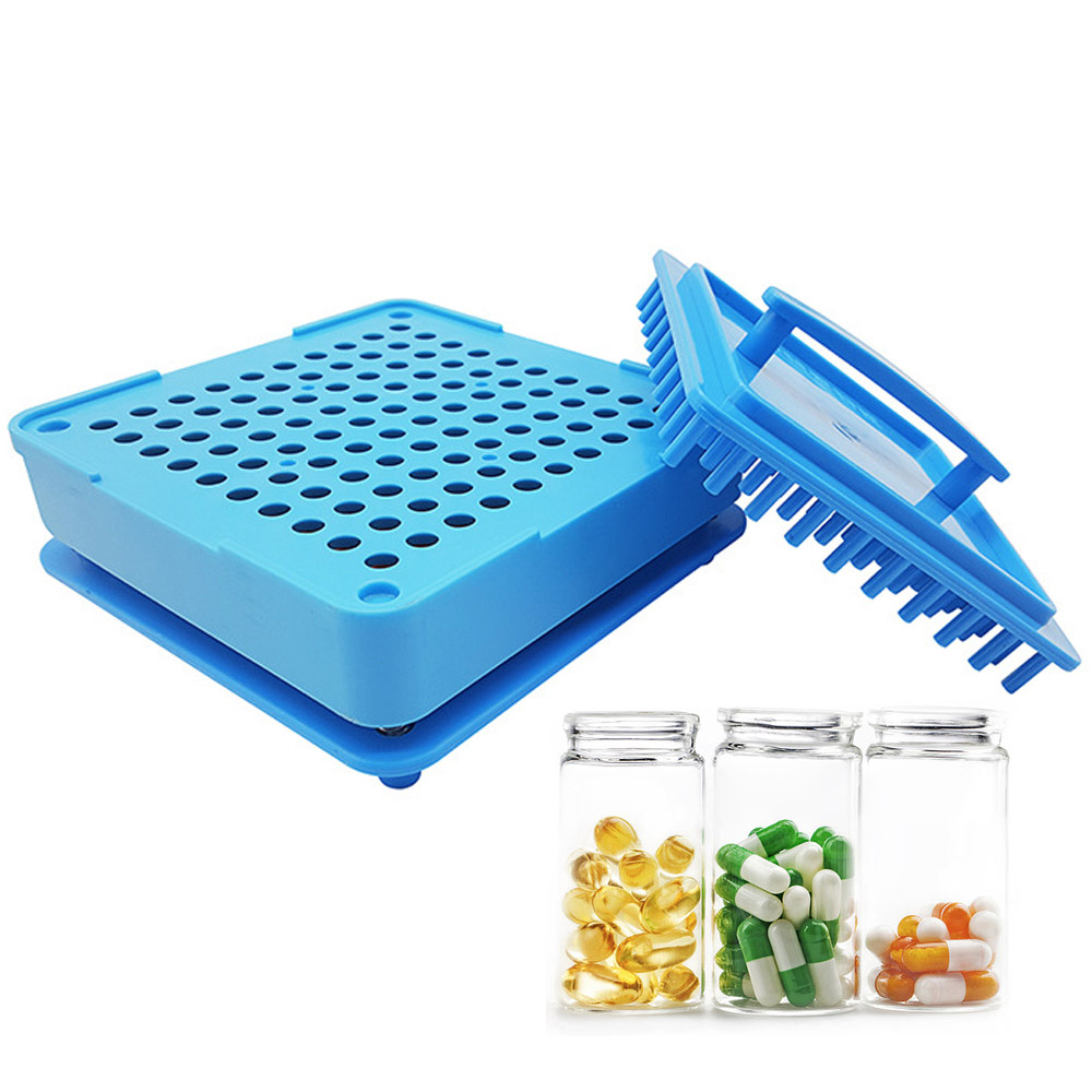 100 Holes Manual Capsule Filling Machine #1 Manual Encapsulator Capsule Filling Board