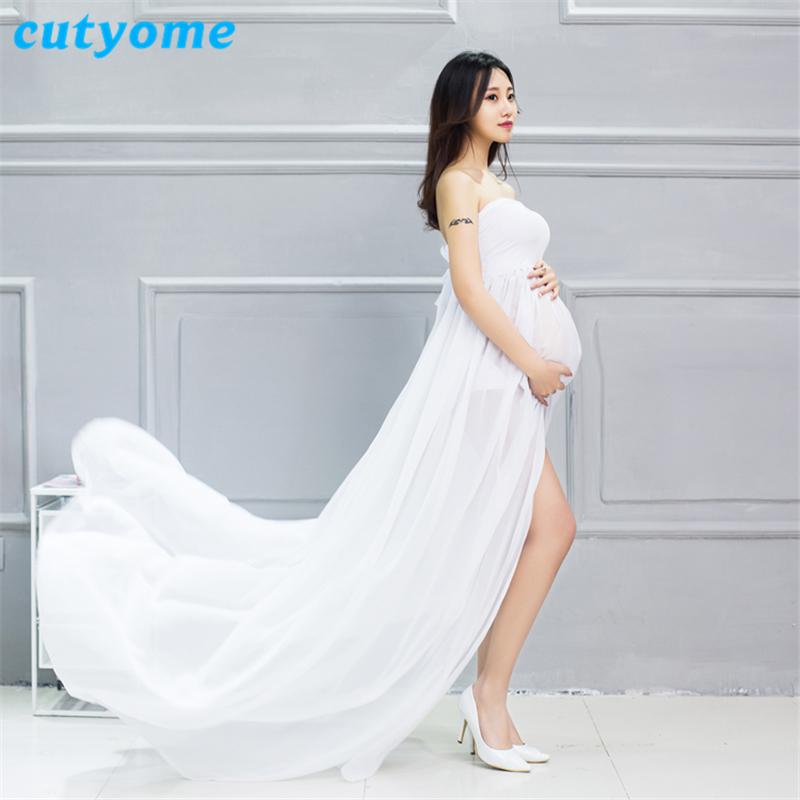 Maternity Dresses For Photo Shoot Pregnancy Women Maxi ...