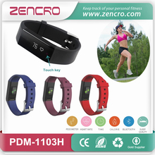 Bluetooth Wristband Pedometer Bracelet Good Health Tracker Coronary heart Fee Monitor