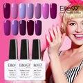 Elite99 10 ml pulimento del gel uv esmalte de uñas de color rosa púrpura gel barniz laca empapa del gel de larga duración esmalte de uñas