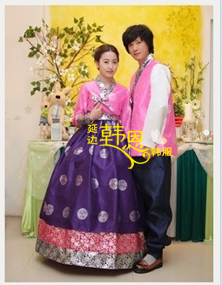d9b9cec5a Premium Korean Hanbok Custom Made Woman Man Traditional Hanbok Dress Bride  Groom Wedding Party Dress Stage
