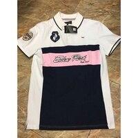 60f990739 Top Embroidery Summer Polo Shirt Men S Short Sleeve Polos Shirts Slim Fit  For Men Clothes. Top bordado camisa polo verão dos homens ...