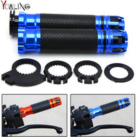 Hot Sale Style 22mm Motorcycle Handlebar Motocross Handle Bar Grips Ends For Honda CBF1000 CB1300 CBR600F