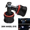 2 Pcs 20 W H8 Car LED HID Angel Eyes Luz 2000 ML 6000 k Para BMW E60 E61 E63 E64 E70 E71 X5 X6 Z4 E82 E87 E89 E90 E91 E92 E93