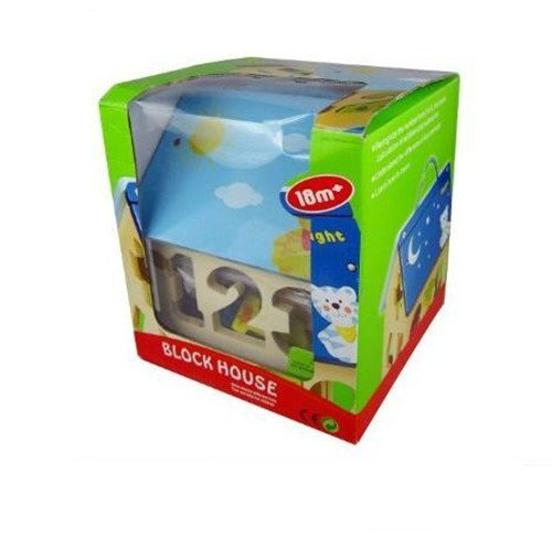 Educational figure toys assembling digital house #2068