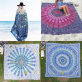 Chiffon Bohemia Rectangle Beach Towel Yoga Mats Cloth Picnic Blanket Shawl Decor Tapestry Peacock Mandala Tapestry Wall Hanging