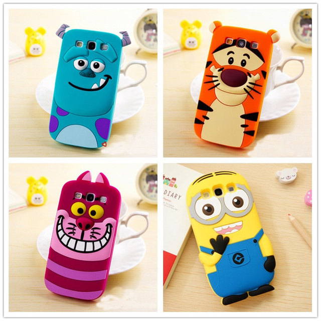 online store 07385 e675a 3D Cute Animal Cartoon Monsters Minions Silicon Case Cover for Samsung  Galaxy Core Prime G361H G361F VE SM G361H G360H G360F Bag on Aliexpress.com    ...