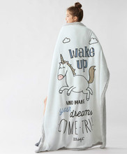 150*120CM Blanket 2017 cute cartoon boy girl Wake Up baby blankets manta winter bedding car-covers baby deken bebek battaniye