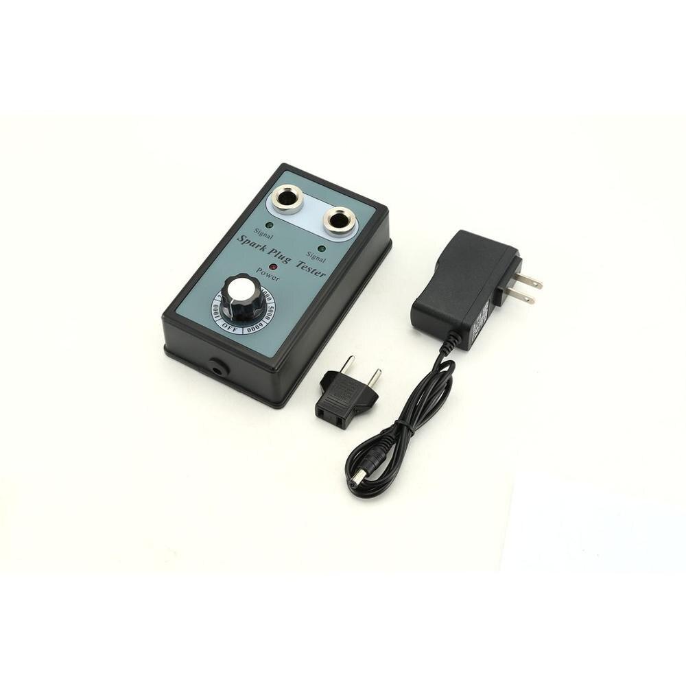 Car Spark Plug Tester Ignition Testers Automotive Diagnostic Tool Double Hole Analyzer For 12V Gasoline Vehicles Petrol Car