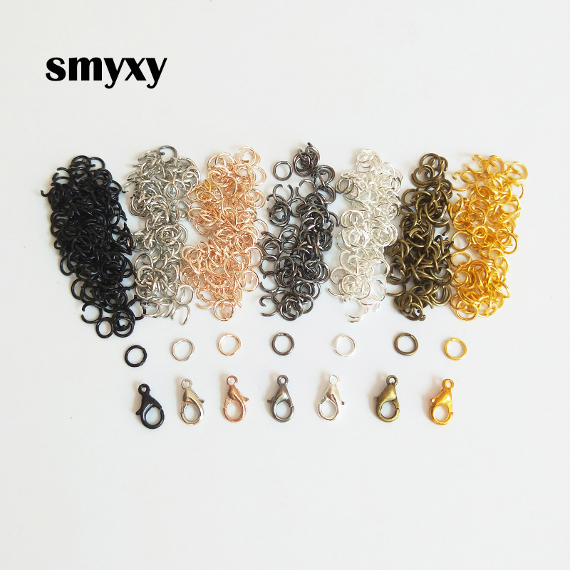 SMYXY 30Pcs/lot Lobster Clasp Hook 100Pcs Jewelry Making
