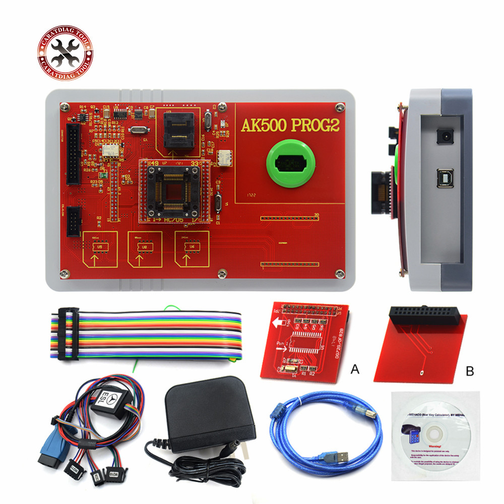 2018 Newest AK500 Pro full Set AK 500 Key Programmer AK500 SKC Main Unit for Mercedes