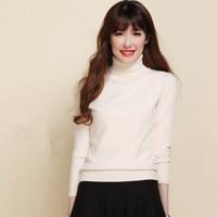 Autumn And Winter Turtleneck Sweater Women Slim Sweater Women S Cashmere Pullover Sweater Thickening Basic Sweater