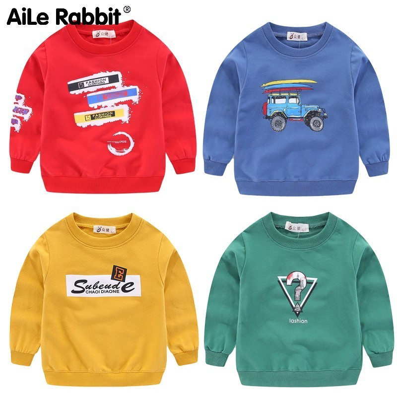 Sweater Spring Long-Sleeve Girl Children's Garment Pullover Catamite Become Hand-Sell