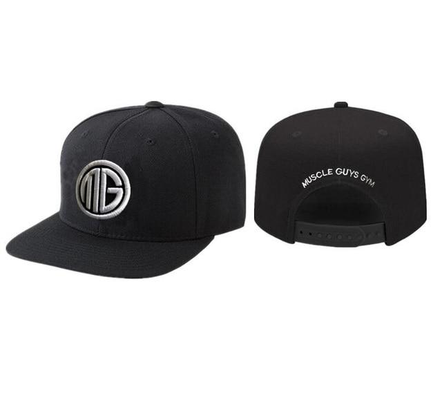 627395dfff2 Muscleguys 2018 Brand Snapbacks Men Baseball Cap Embroidery Hip Hop Hats   Caps  Men Women black