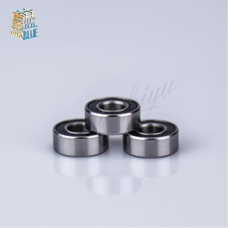 Free Shipping 10pcs <font><b>688</b></font>-2RS 8*16*5 mm ABEC-1 <font><b>688</b></font> <font><b>rs</b></font> 688rs The Rubber sealing cove Thin wall deep groove ball bearings 688RS image