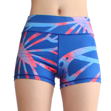 Summer Yoga Running Women Safety Leggins Female Short Pants  Mid Waist Sexy Solid Breathable Boyshorts Panties
