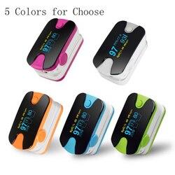 Kolor OLED pulsoksymetr napalcowy 4 parametr SPO2 PR PI wskaźnik oddychania Monitor przebiegu oddechowego
