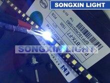 2000 шт. для UNI 3537 3535 1 Вт Светодиодный чип 2 90 лм холодный белый ЖК подсветка для телевизора высокая мощность светодиодный 3 в