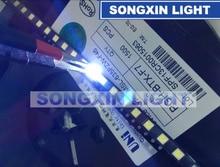 2000 sztuk dla UNI 3537 3535 1W Chip LED 2 90LM zimny biały podświetlenie LCD do telewizora zastosowanie wysokiej dioda LED dużej mocy 3v