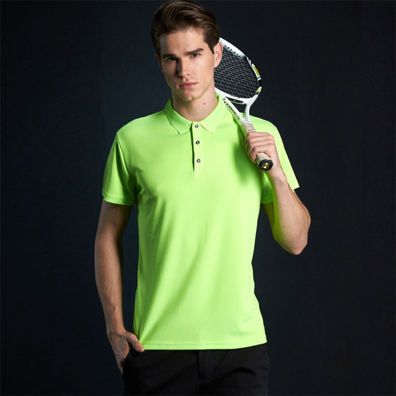 Fast Dry Polo Shirt Men Summer Couple Casual Short Polos Male Fashion Quality Men Women Sport Top Tee 2019 New Fitted Size S-4XL 06