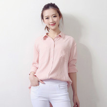 Women Tops Long Sleeved Casual Solid Color Shirts Fashion Blouse Elegant blouse,blusas Femininas Shirt Tops Blouse TT822