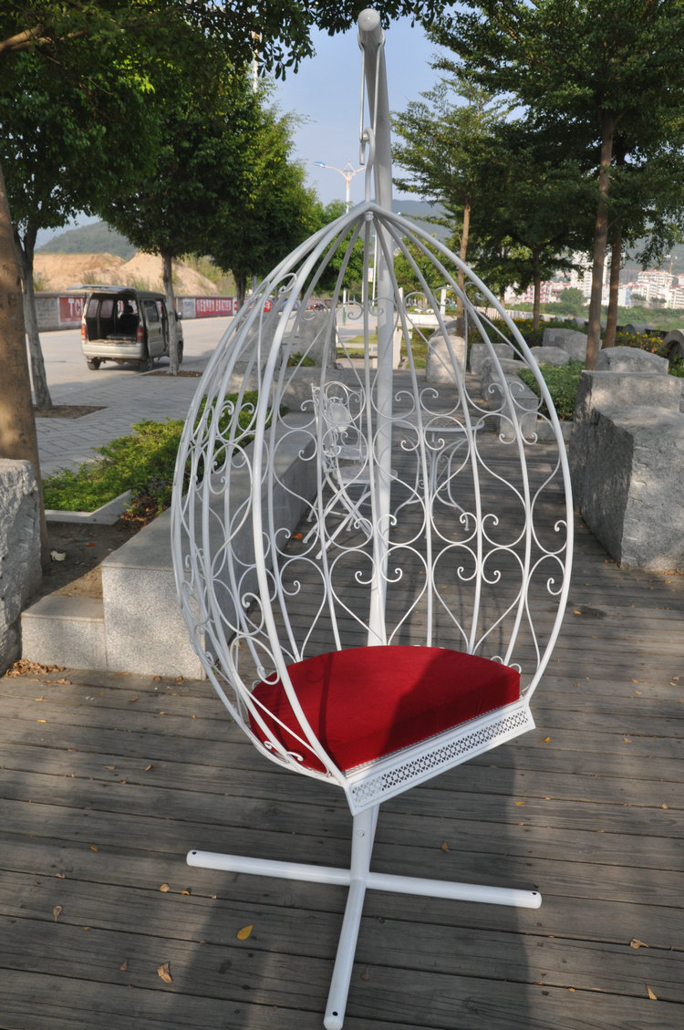 Wrought Iron Furniture Indoor. Iron Little Lazy Swing Rocking Recliner  Chair Hanging Indoor And Outdoor