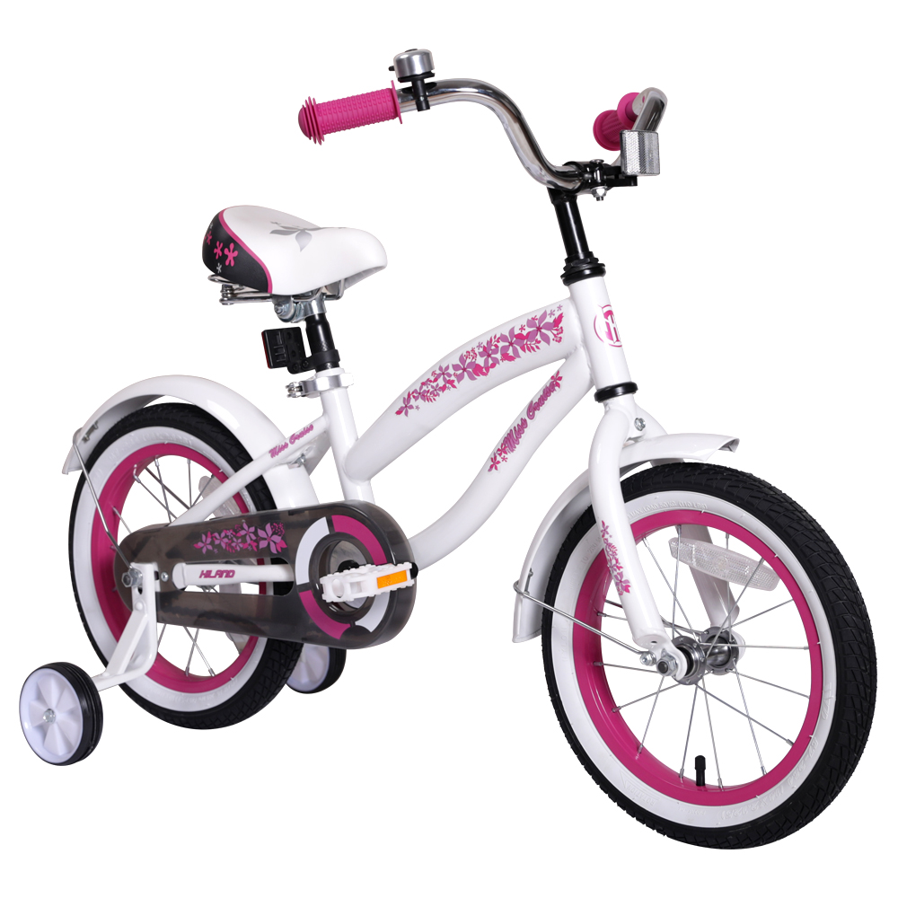 14/16 Inch Colorful Kids Children Bike Forest Princess Kids Bicycles Girls Bike Foot Break BSCI Verified Factory Free Shipping