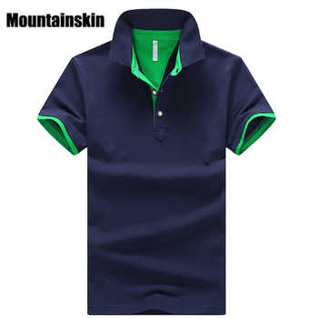 Mountainskin 2020 Solid Mens Shirts Brand Cotton Short Sleeve Camisas Tops Summer Stand Collar Male Shirt 4XL EDA324 - DISCOUNT ITEM  13 OFF Men\'s Clothing