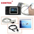 CONTEC CMS-60C Handheld Health Care Medical Pulse Oximeter Oxygen Saturation Test USB SPO2 Monitor Oximeter