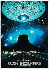 Close Encounters of the Third Kind Science fiction Movie Art Silk Poster Print Home Wall Decor