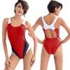 CROSS1946 Maillot Athletic Training Trikini Sport Swimsuit One Piece Bathing Suit Women Monokini Racing Plus Size
